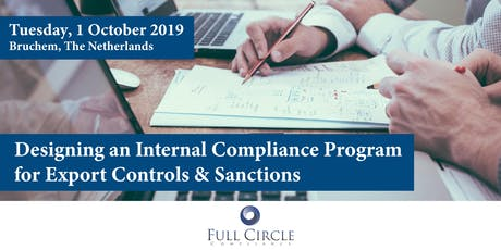 Designing an Internal Compliance Program for Export Controls & Sanctions tickets