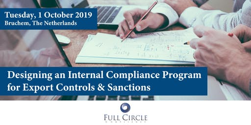 Designing an Internal Compliance Program for Export Controls & Sanctions