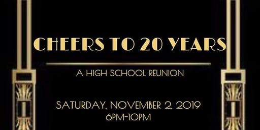 Cheers To 20 Years- BHS Class of 99 Reunion