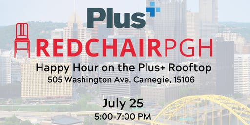 RedChair PGH and Plus+ Consulting Rooftop Happy Hour
