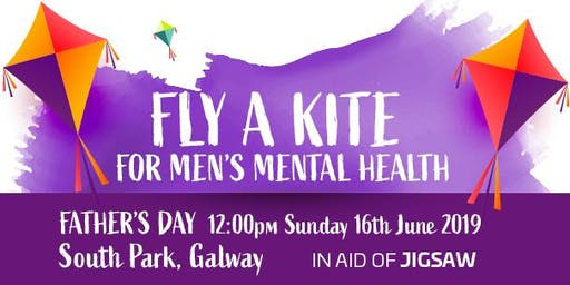Fly a Kite for Men's Mental Health