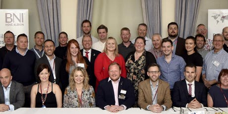 Hove Business Networking Breakfast (BNI Hove Albion) tickets