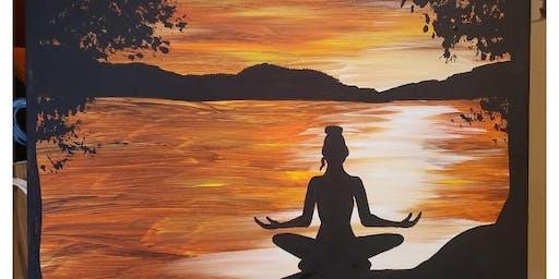 Jim Thorpe Yoga BYO Paint & Sip