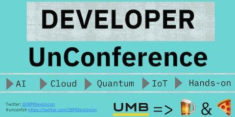 Developer UnConference - Zürich, Switzerland  tickets