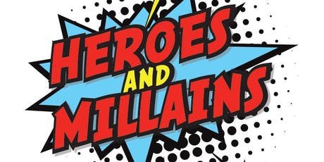 Acts 1:8 Missions Auction - Heroes & Millains  tickets
