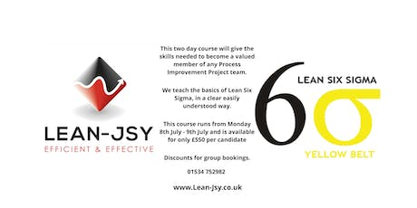Lean Six Sigma Yellow Belt - Only £550.00 tickets