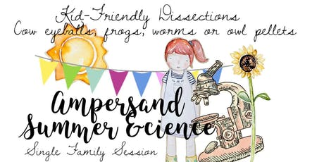 July 11th Single Family Session Ampersand Summer &cience tickets
