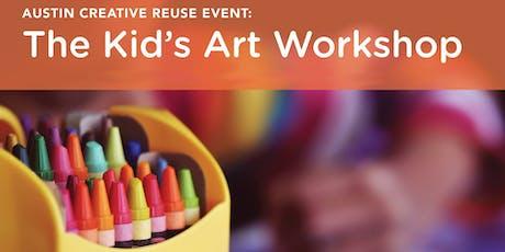 Austin Creative Reuse Kid's Art Workshop July tickets
