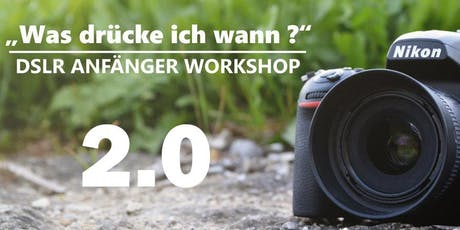 "Workshop "" Was drücke ich wann?"" Tickets"