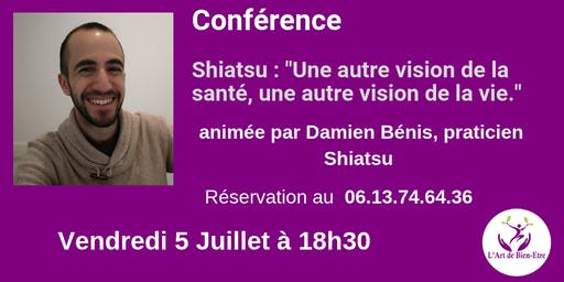 Conférence gratuite sur le Shiatsu