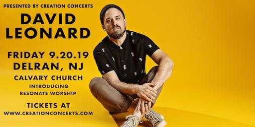 David Leonard at Calvary Church in Delran, NJ