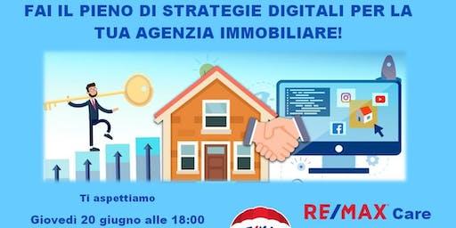 Fai il pieno di strategie digitali per la tua agenzia immobiliare
