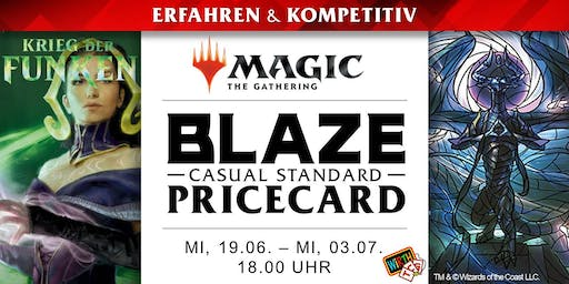 Magic: BLAZE - Pricecard