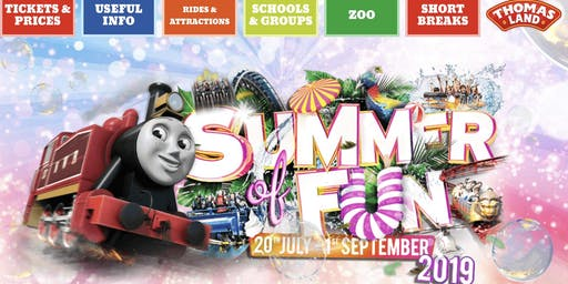 Summer Outing Drayton Manor Theme Park