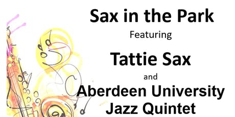 Sax in the Park tickets