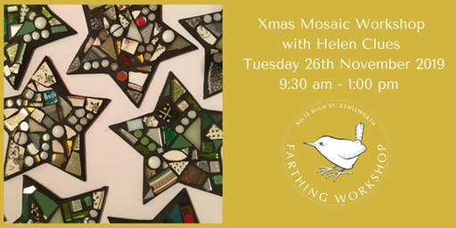 Xmas Mosaic Workshop with Helen Clues
