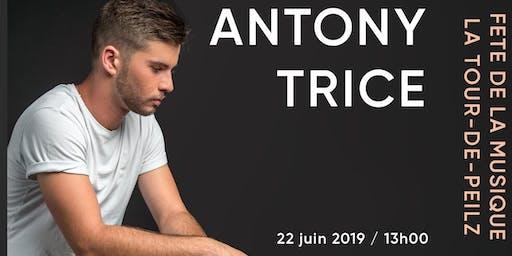 Antony Trice à la Fête de la Musique de la Tour-de-Peilz