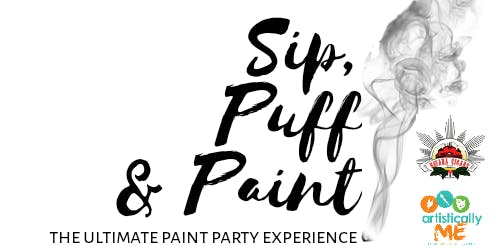 Sip, Puff & Paint - Summer Sunday Funday