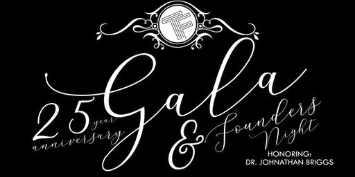25th Anniversary Gala & Founders Night