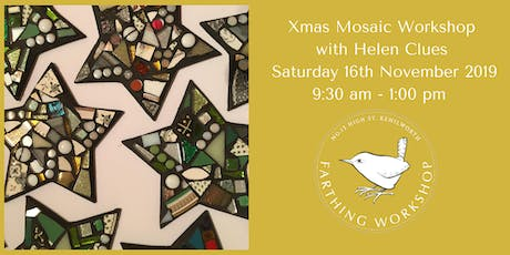 Xmas Mosaic Workshop with Helen Clues tickets