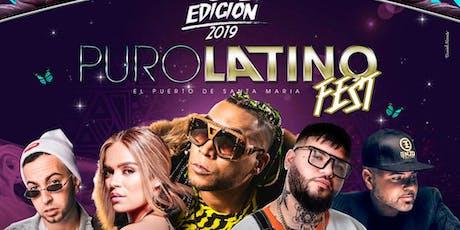 Puro Latino Fest 2019 en Puerto de Santa María entradas