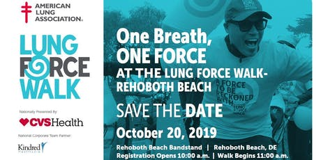 LUNG FORCE Walk tickets