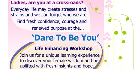Dare To Be You, St Austell tickets