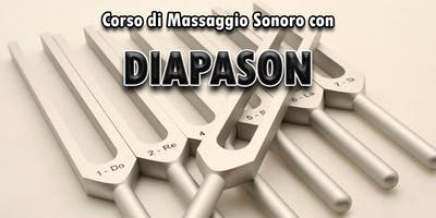 Corso di massaggio sonoro con Diapason
