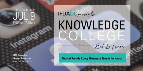 July Knowledge College - Digital Trends Every Business Needs to Know tickets