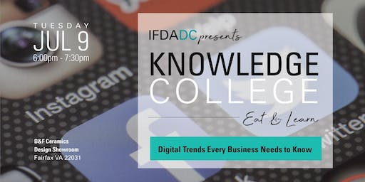 July Knowledge College - Digital Trends Every Business Needs to Know