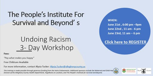 PISAB's Undoing Racism 3-Day Workshop