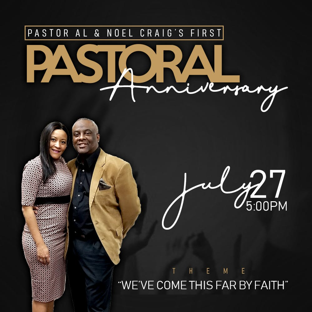 Al & Noel 1st. Year               Pastoral Anniversary