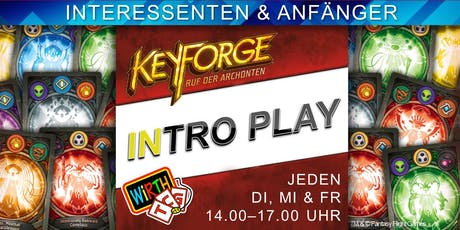 Keyforge: Intro Play Tickets