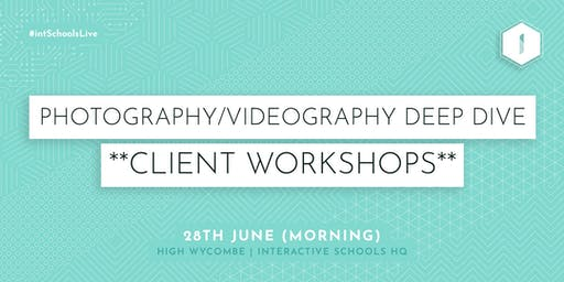 Photography & Videography Deep Dive (Client-Exclusive) - MORNING