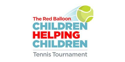 The Red Balloon Children Helping Children Tennis Tournament Kickoff Event