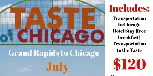 Grand Rapids Heads to The Taste