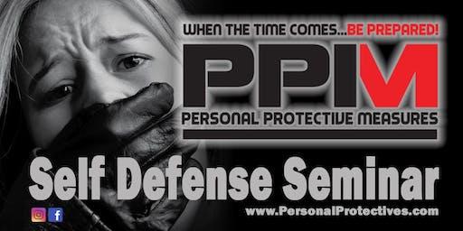 PPM Self Defense Seminar