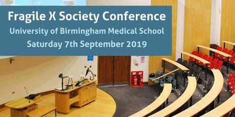 Fragile X Society Conference tickets