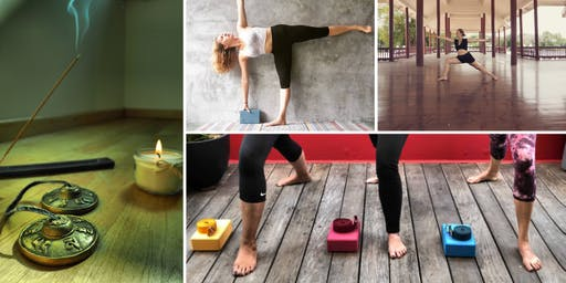 Hatha Yoga in a cosy place in Zürich July 2019