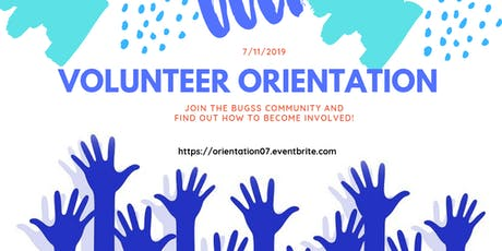 Volunteer Orientation tickets