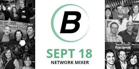 Reno Networking Mixer - Breakthrough Network - September 2019 tickets
