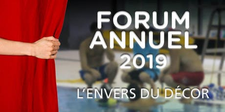 FORUM ANNUEL 2019 tickets