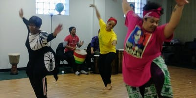Mamas with Grace (African Movements) Dance Class