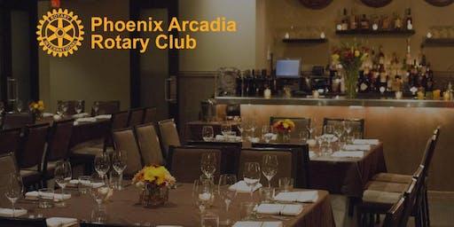 Phoenix Arcadia Rotary Club 2019 Installation Dinner