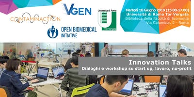 Innovation Talks | Workshop su startup, lavoro e no-profit
