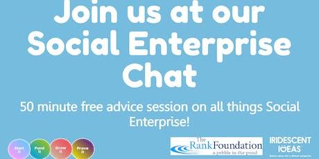 Social Enterprise Chat - Sept 2019 tickets