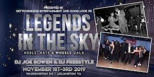 Legends in the Sky - Heels, Hats and Wheels!