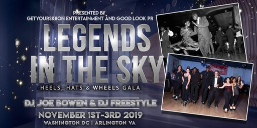 Legends in the Sky - Heels, Hats and Wheels!