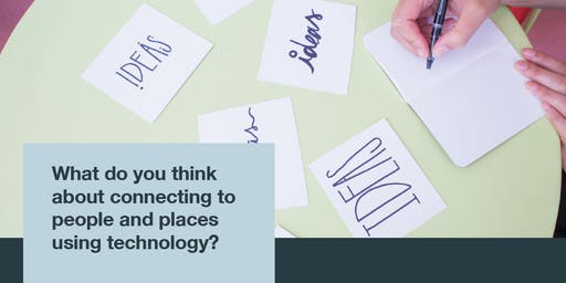 How do older people want to connect to people and places using technology?