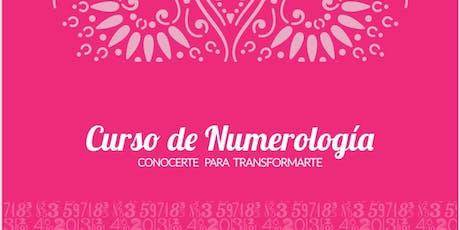 Curso de Numerología entradas
